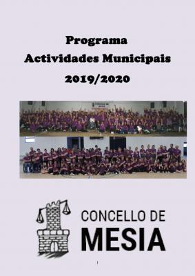 ACTIVIDADES CONCELLO DE MESIA 2019 2020