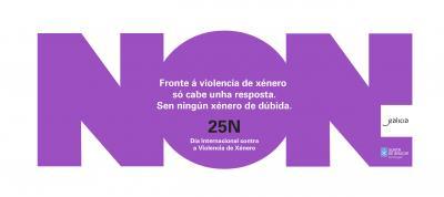 FRONTE Á VIOLENCIA DE XÉNERO SÓ CABE UNHA RESPOSTA: