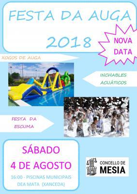CARTEL FESTA DA AUGA 2018