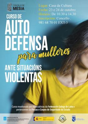 Curso de Autodefensa para mulleres ante situación violentas