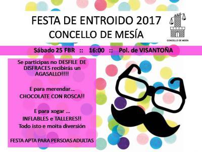 FESTA DE ENTROIDO MESIA 2017