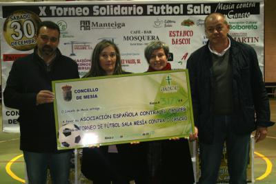 X TORNEO SOLIDARIO DE FÚTBOL SALA 'MESÍA CONTRA O CANCRO'