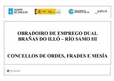 OBRADOIRO DE EMPREGO ORDES, FRADES, MESIA