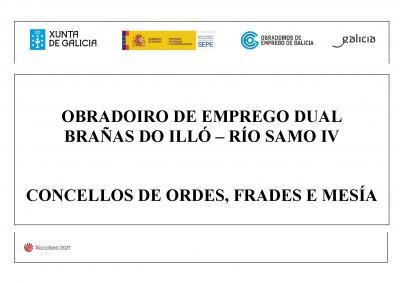 OBRADOIRO DE EMPREGO BRAÑAS DO ILLÓ - RÍO SAMO IV