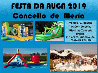 FESTA DA AUGA CONCELLO DE MESIA 2019