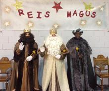Os Reis Magos en Mesía