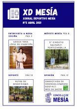 XORNAL DEPORTIVO MESÍA: Nº2 ABRIL 2021 - Concello de Mesia