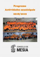 PORTADA ACTIVIDADES MUNICIPAIS MESIA 18 19