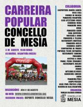 CARTEL CARREIRA POPULAR 2019