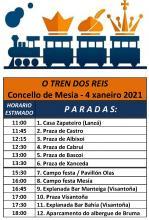 TREN DOS REIS CONCELLO DE MESIA 2021