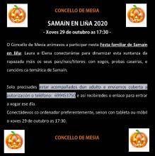 FESTA DE SAMAIN EN LIÑA CONCELLO DE MESIA 2020