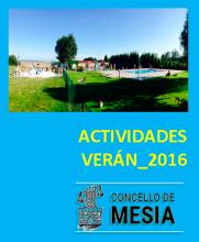 Actividades Verán 2016