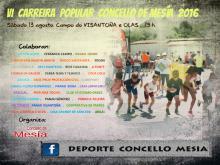 CARTEL CARREIRA 2016