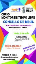 CURSO DE MONITOR DE TEMPO LIBRE - Concello de Mesía