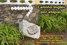 CAMIÑO SANTIAGO POR ETAPAS CONCELLO DE MESIA 2019