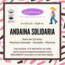 ANDAINA SOLIDARIA CONCELLO DE MESÍA 2021