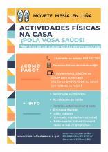 ACTIVIDADES EN LIÑA CONCELLO DE MESIA 2020