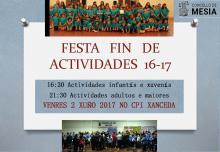 FIN CURSO MESIA 16 17