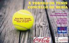 X TORNEO DE TENIS MESIA 2017